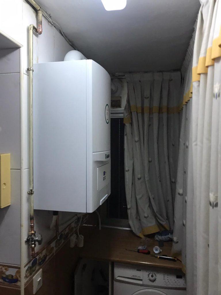calderas de gas en Usera -Madrid cocina